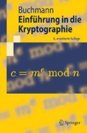 Einführung in die Kryptographie.-.4.Auflage.-.Johannes ... - Furys-Mod