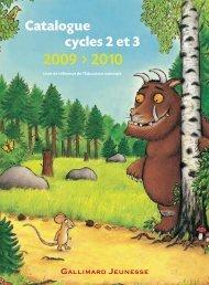 Télécharger ce catalogue au format PDF - Gallimard Jeunesse