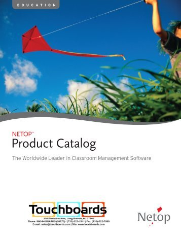 Product Catalog - Touchboards
