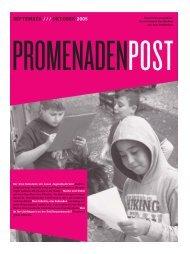 Wo sind die Ideen für 2006 - Schillerpromenade
