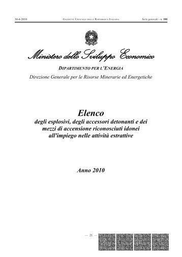 Ministero dello Sviluppo Economico - Gazzette.info