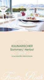 KULINARISCHER Sommer/ Herbst - Traunsee - Salzkammergut