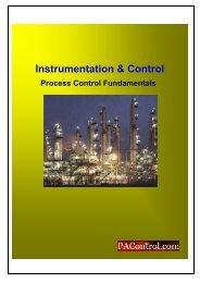Process Control Fundamentals - Process Control and Instrumentation