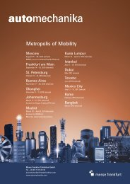 Metropolis of Mobility - Automechanika