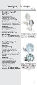 Downlights Halogen och LED 1203 - Gelia - Page 7