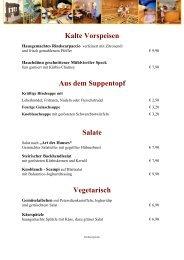 Speisekarte Herbst 2011-1 - Die Genusswochen