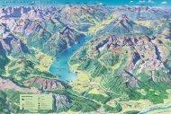 Panoramakarte Achensee Sommer 2011