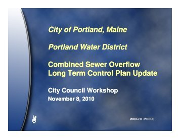 Council Workshop - CSO LTCP Update 11-8-10 - City of Portland