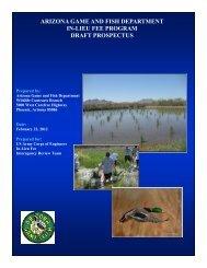 ILF - Arizona Game and Fish Department