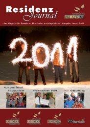 Ausgabe Januar 2011 | Seite 1 - Seniorenresidenz Moseltal