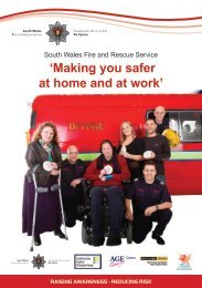 Seminar Information - South Wales Fire and Rescue Service