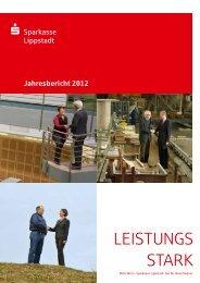 Jahresbericht 2012 - Sparkasse
