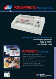 Compact and portable, stylish and simple to use Pouch Laminator ...
