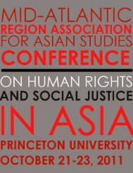 2011 Conference Program - University Center for International ...