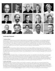 Leadership Principals - American Society of Landscape Architects