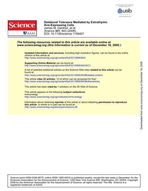 Gardner et al. Science. 2008 - University of California, San Francisco
