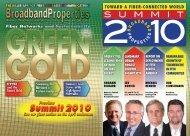 TOWARD A FIBER-CONNECTED WORLD - Broadband Properties