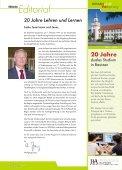 HOCHzwo - Ausgabe 1/2011 - der Studienakademie Bautzen - Seite 3