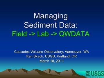Sediment Data