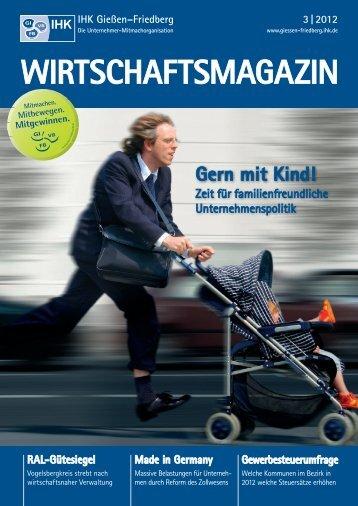 WIRTSCHAFTSMAGAZIN 3   2012 - B4B MITTELHESSEN