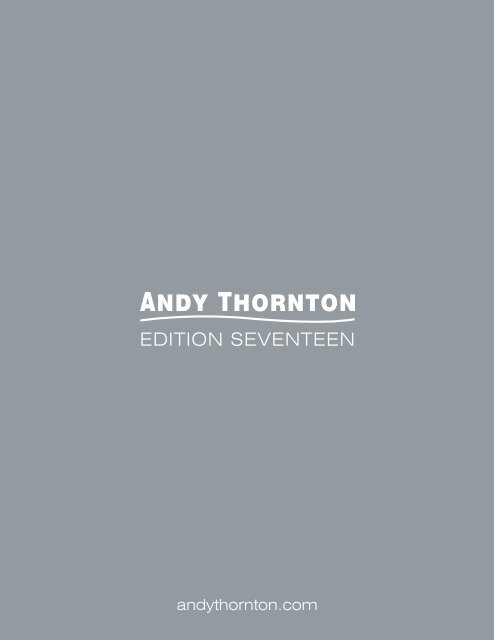 Andy Thornton Catalogue 17