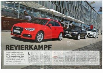 Download Auto Zeitung Vergleichstest - Audi