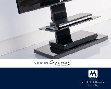 Collezione Sydney arreda l'elettronica
