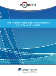 cover for data briefing No 1 final signed off - Institute of Public Health ...