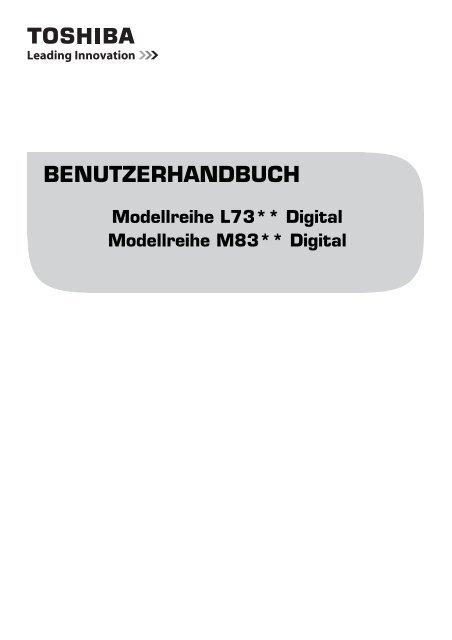 BENUTZERHANDBUCH - Toshiba-OM.net