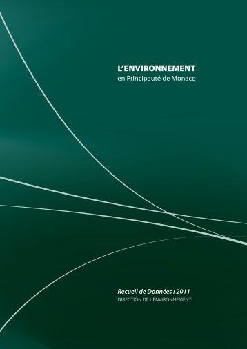 Recueil de données 2011- Chapitre 1 - Gouvernement Princier