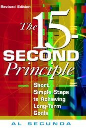 1. The 15-Second Principle
