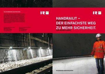 HANDRAILIT - Rhomberg Bahntechnik