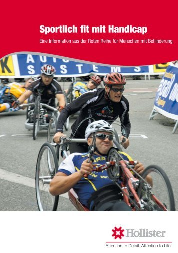 Rote Reihe - Sportlich fit mit Handicap - Hollister Incorporated