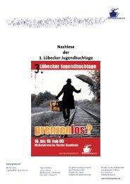 Nachlese der 3. Lübecker Jugendbuchtage 2009