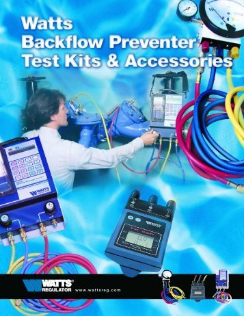 Watts Test Kits and Accessories - Backflow Supply