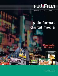 wide format digital media - Graphic Arts & Printing