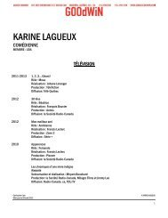 KARINE LAGUEUX - Agence Goodwin