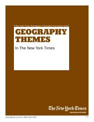 GeoGraphy TheMeS - The New York Times