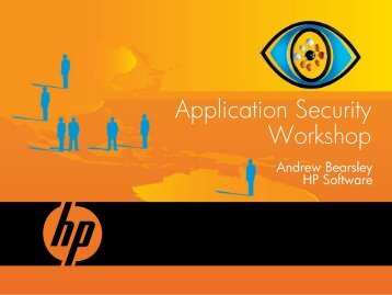 Introduction to Application Security - HP