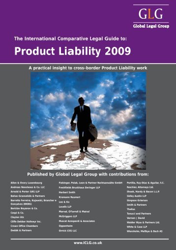 The International Comparative Legal Guide to: Product Liability 2009
