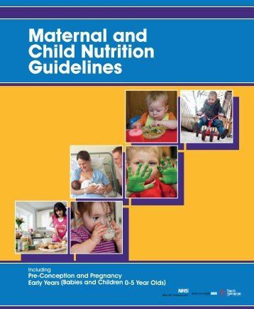 Maternal and Child Nutrition Guidelines - NHS North Somerset