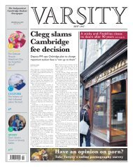 Clegg slams Cambridge fee decision - Varsity