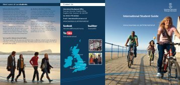 International Student Guide - Swansea University