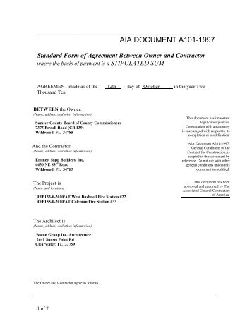 CONTRACTS for Bushnell and Coleman.pdf - Sumter County, FL