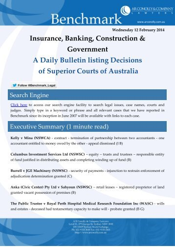 benchmark_12-02-2014_insurance_banking_construction_government