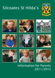 Parents information Handbook - Silcoates School