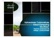 Aplicaciones Colaborativas, Cloud Computing, Movilidad - CICOMRA