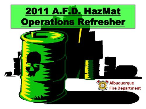 2011 Ops Refresher