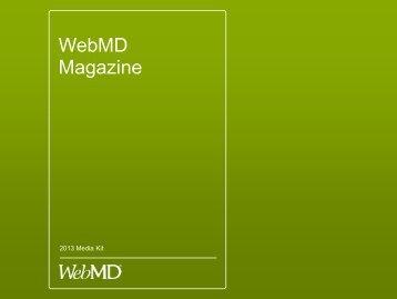 WebMD Magazine