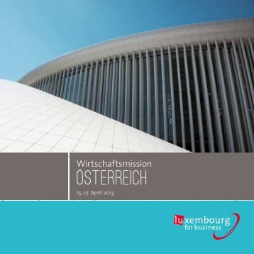 Osterreich - Luxembourg BioHealth Cluster
